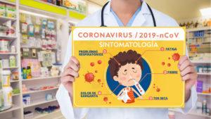 carteles informativos sobre el coronavirus